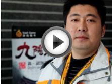 武林大会全国擂台赛北京站选手采访花絮4