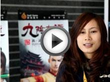 武林大会全国擂台赛北京站选手采访花絮3