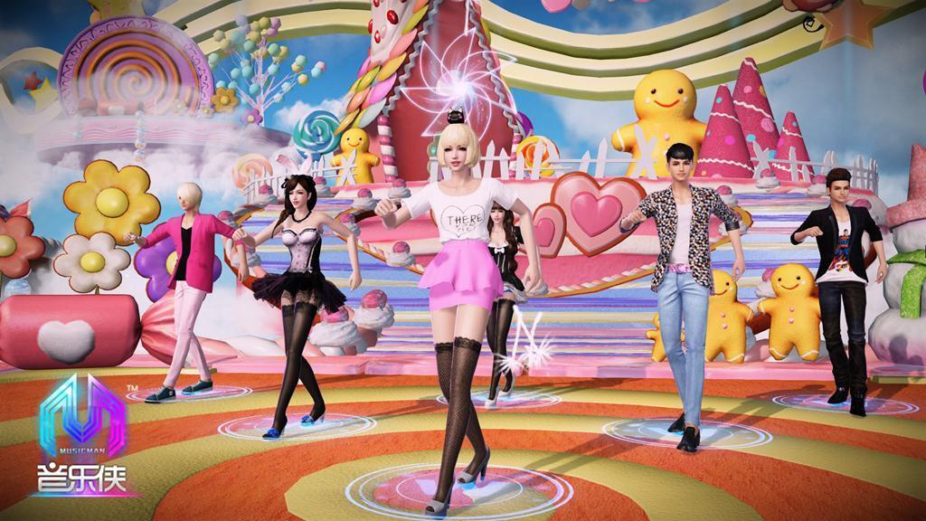 3D高清舞蹈交友网游《音乐侠》5月20日开测