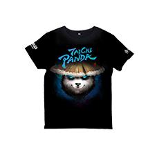 太极熊猫T恤