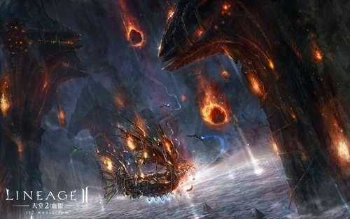 天堂2血盟手游游戏背景:第三节 战争