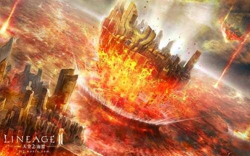天堂2血盟手游游戏背景:第五节 毁灭